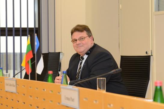 L. Linkevičius ir M. Šefčovičius aptarė svarbiausius Baltijos regiono energetinio saugumo iššūkius