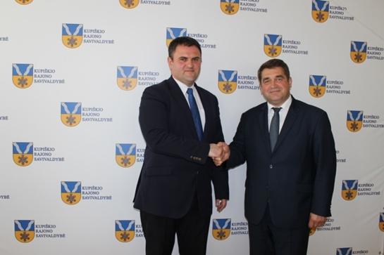 Savivaldybėje apsilankė Rumunijos ambasadorius Lietuvoje J. E. Dan'as Adrian'as BALANESCU