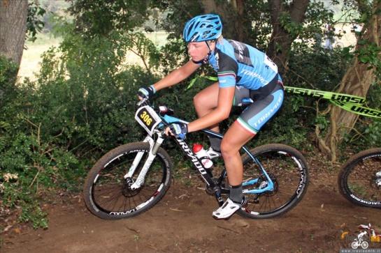 Kalnų dviratininkė K. Sosna - pasaulio čempionato dešimtuke