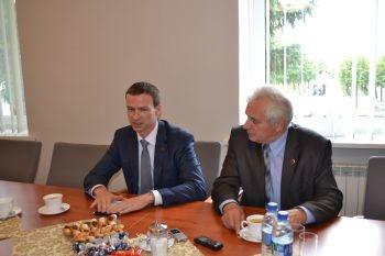 Šakiuose - Energetikos viceministro vizitas