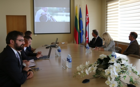 Tauragės savivaldybėje lankosi Plungės savivaldybės atstovai