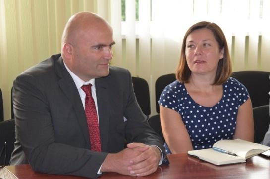 """Savivaldybėje lankėsi naujasis """"Litesko"""" generalinis direktorius"""