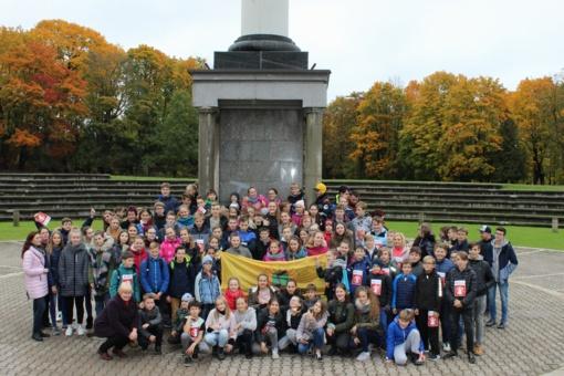 Juventiečiai dalyvavo IV - ajame Solidarumo bėgime