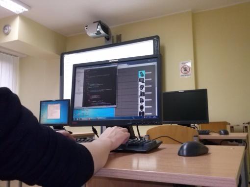 """PHP programavimo dirbtuvės """"Romuvos"""" gimnazijoje"""