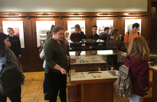 Istorijos pamoka-edukacinis užsiėmimas muziejuje