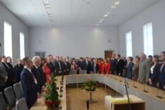 Įvyko iškilmingas rajono savivaldybės tarybos posėdis
