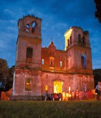 Bartninkų bažnyčios griuvėsiuose - muzikos, šviesos ir dailės sintezė