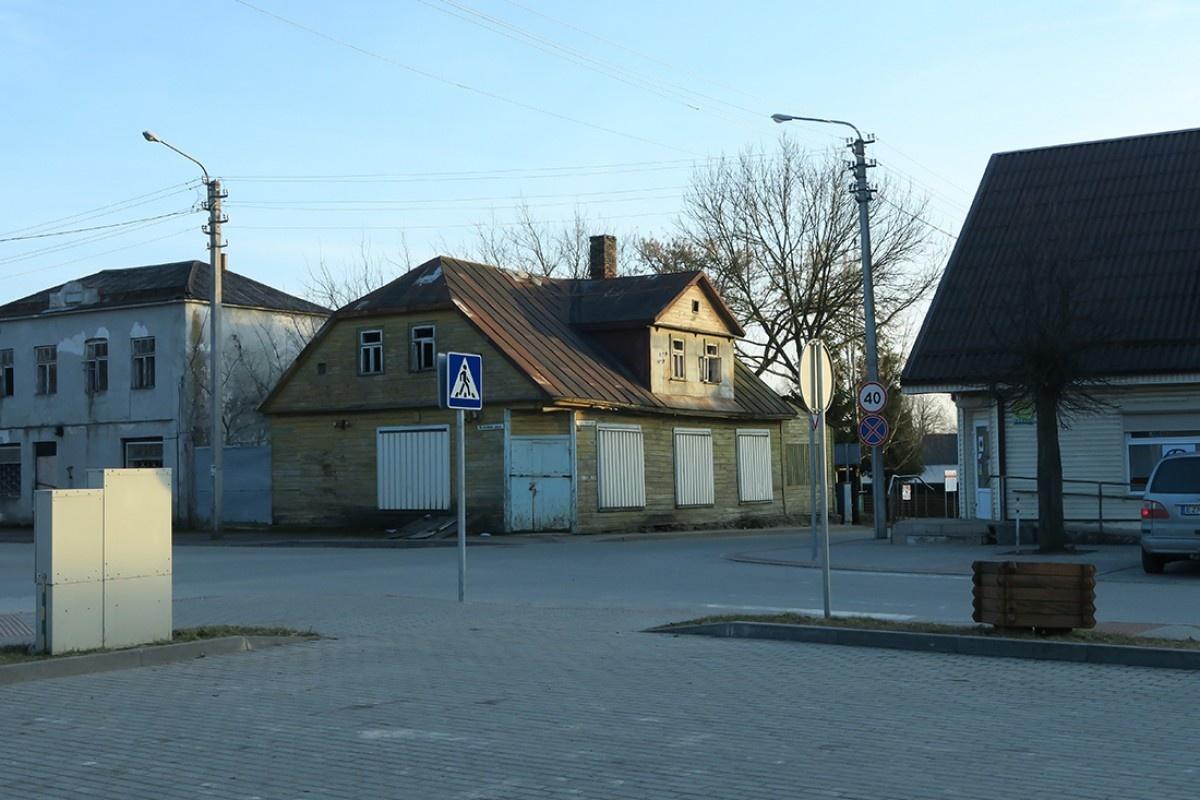 Aptartas Gruzdžių centrinės dalies renovacijos projekto planas