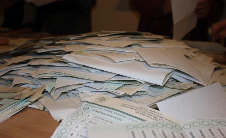 Iki 9 val. sekmadienį rinkimuose balsavo 1,59 proc. rinkėjų