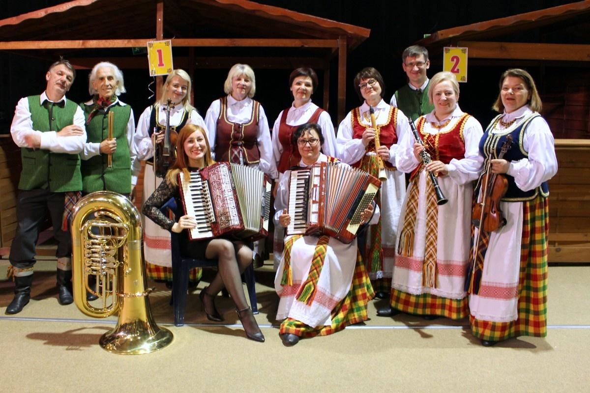 Lietuviškos dainos skambėjo Lenkijoje