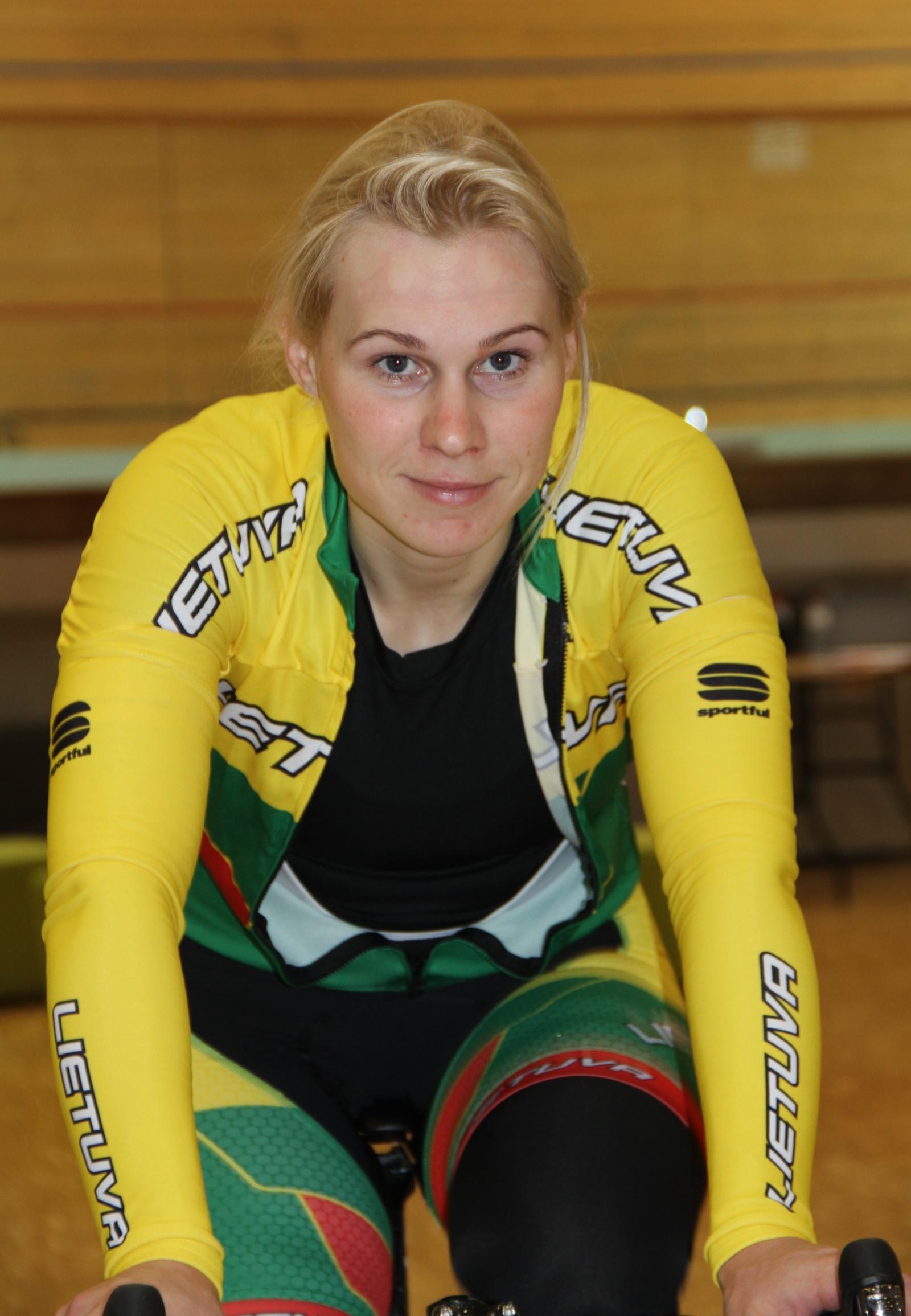 Dviratininkė A. Trebaitė palieka didįjį sportą
