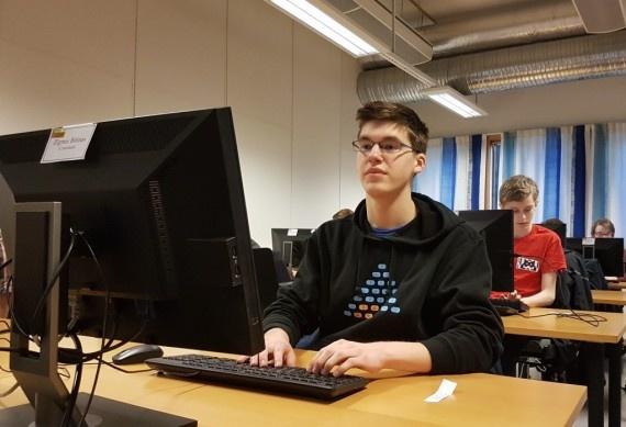 Baltijos šalių informatikos olimpiadoje vilnietis iškovojo bronzą