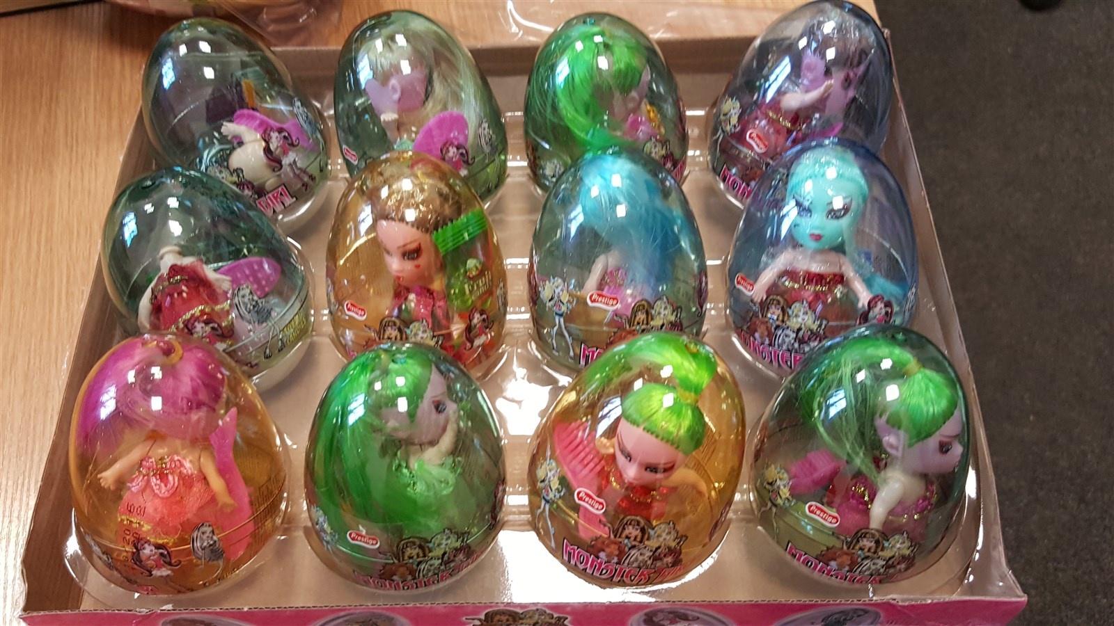 Tarptautinės operacijos metu Lietuvoje sulaikyta per 360 tūkst. klastotų saldainių ir žaislų
