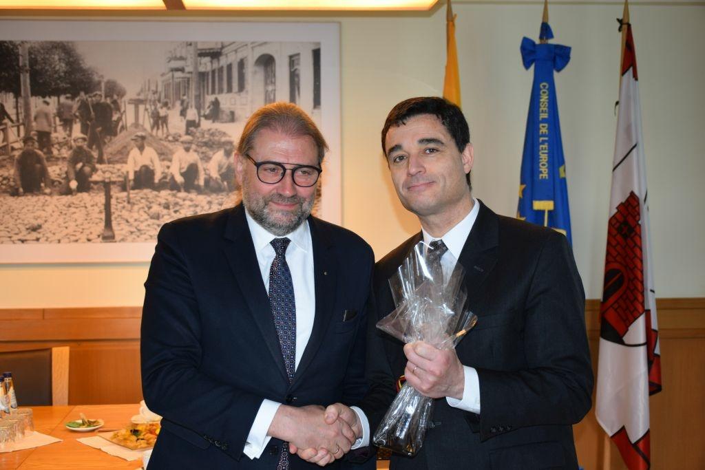 Panevėžyje viešėjo Prancūzijos ambasadorius
