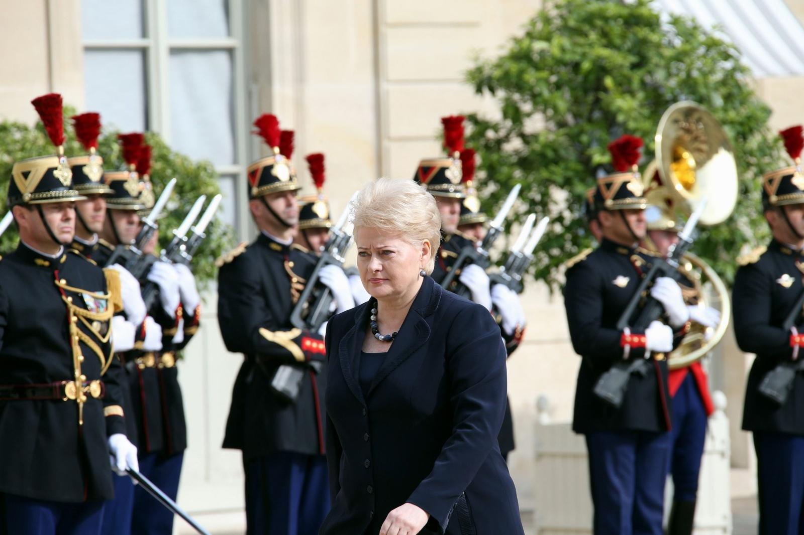 Prezidentė pareiškė užuojautą dėl buvusio Suomijos Prezidento M. Koivisto mirties