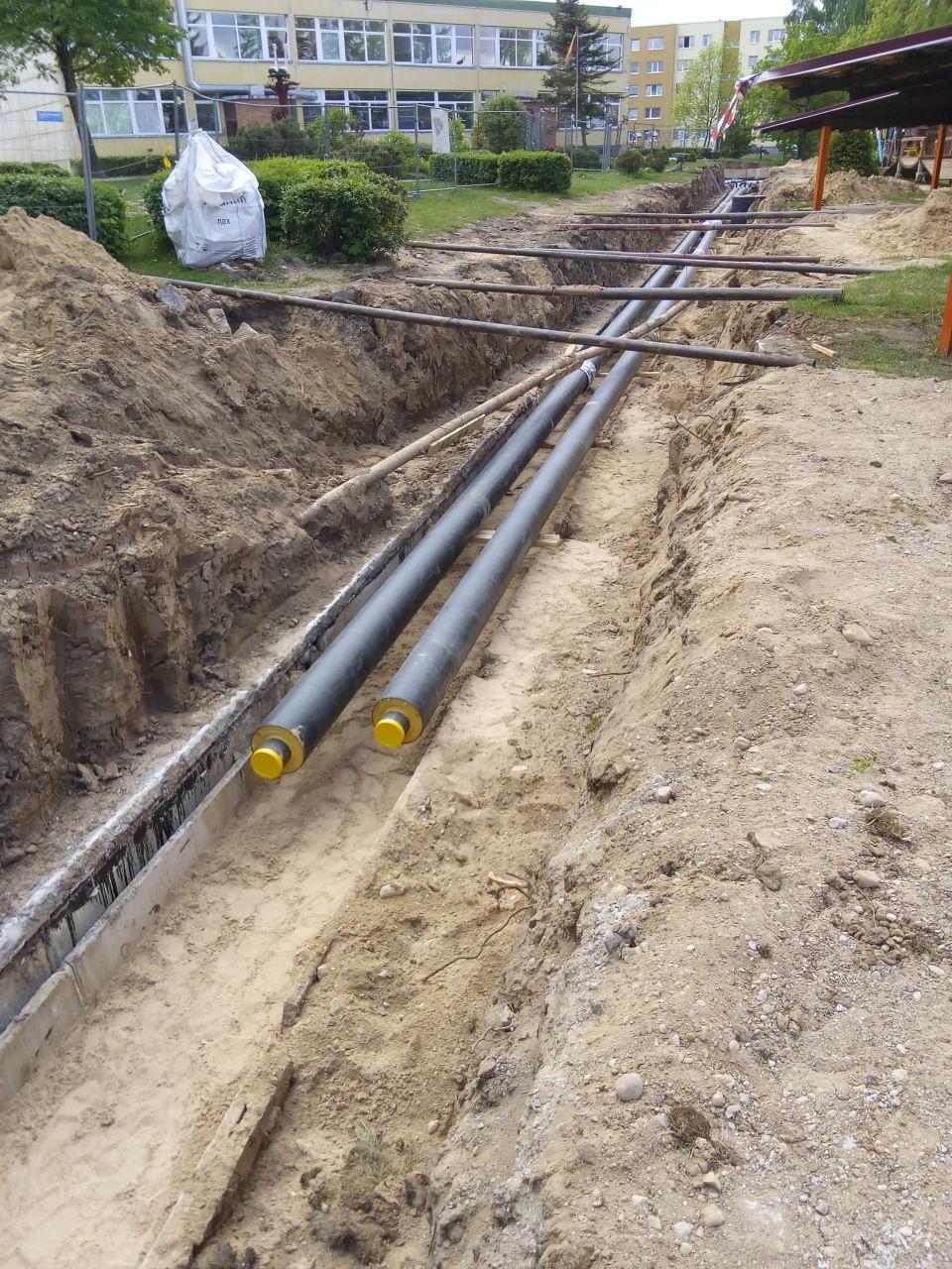 Šilumos tinklų rekonstrukcijos – šilumos tiekimo garantas