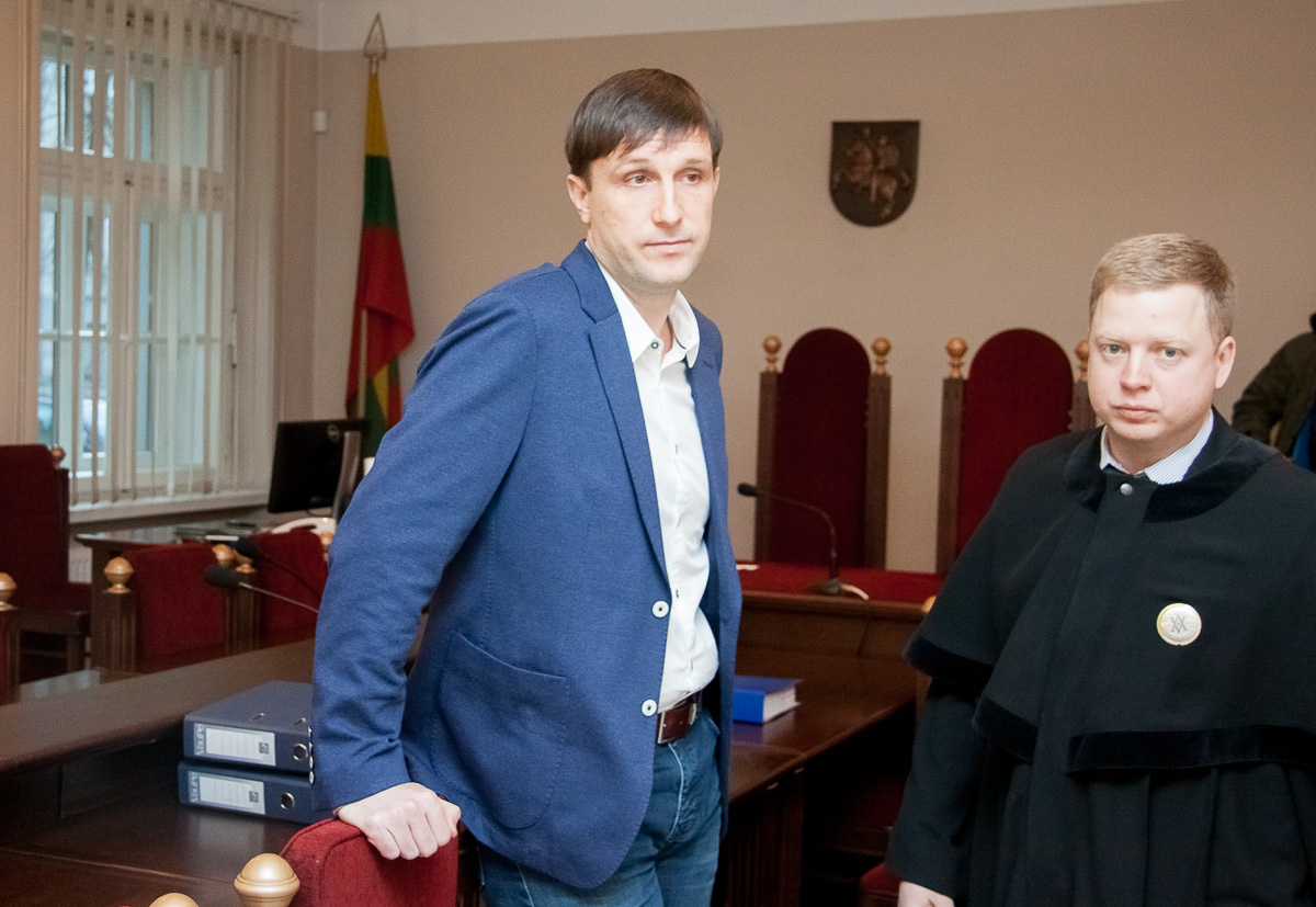 Buvęs Seimo narys A. Sacharukas pripažintas kaltu ir nuteistas