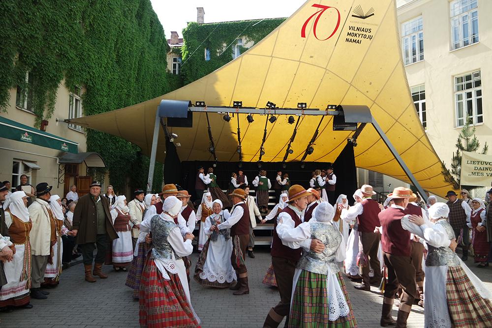 Vilniuje dainavo ir šoko Lietuvos senjorai