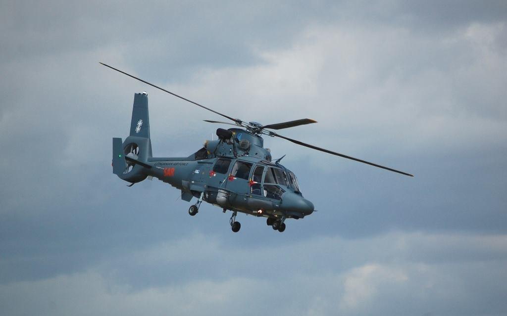 Dingusio vyro paieškai pasitelktas Karinių oro pajėgų sraigtasparnis