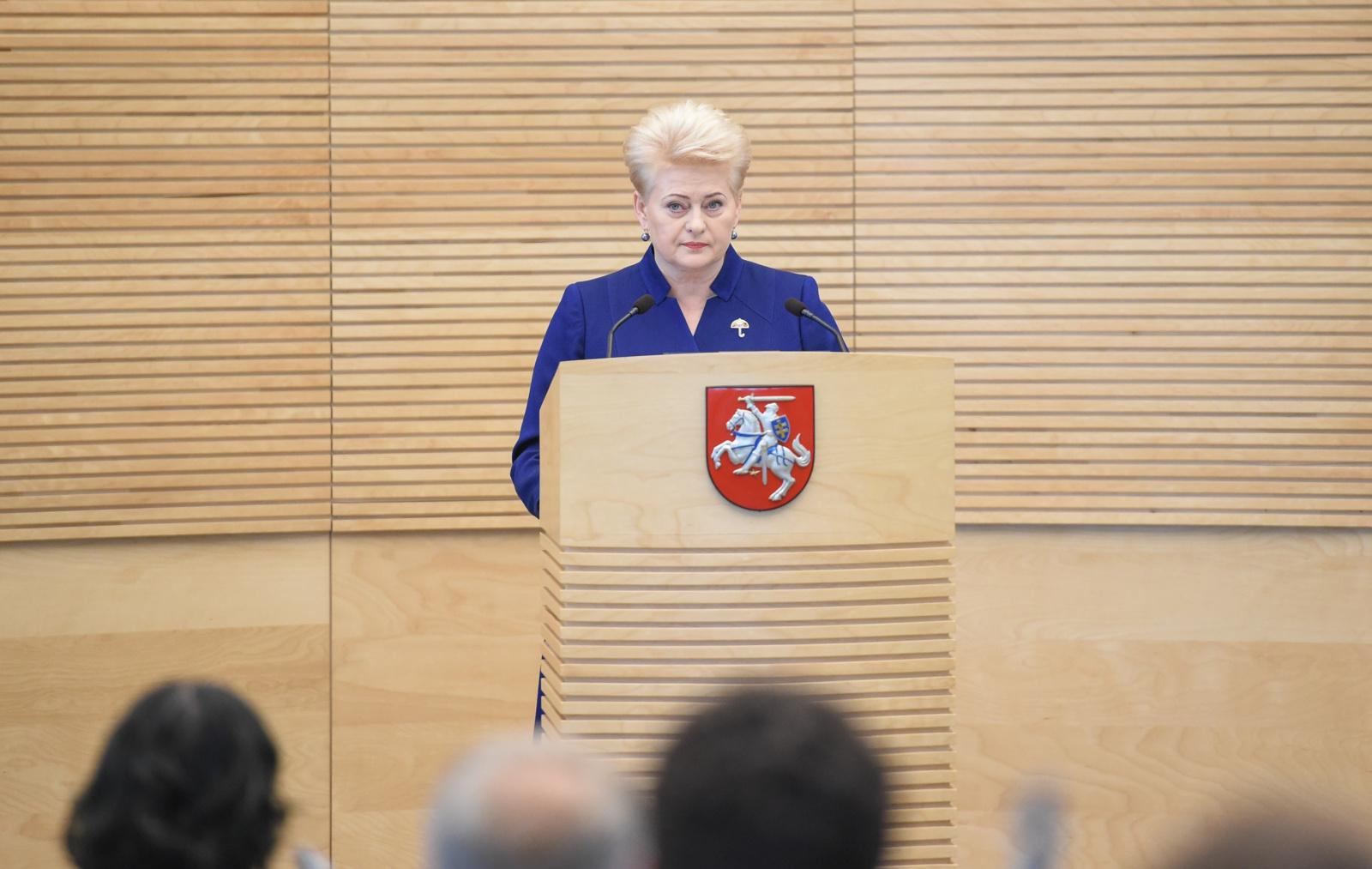 Įtakingiausių šalies politikų sąrašo trejete - D.Grybauskaitė, S.Skvernelis ir R.Karbauskis