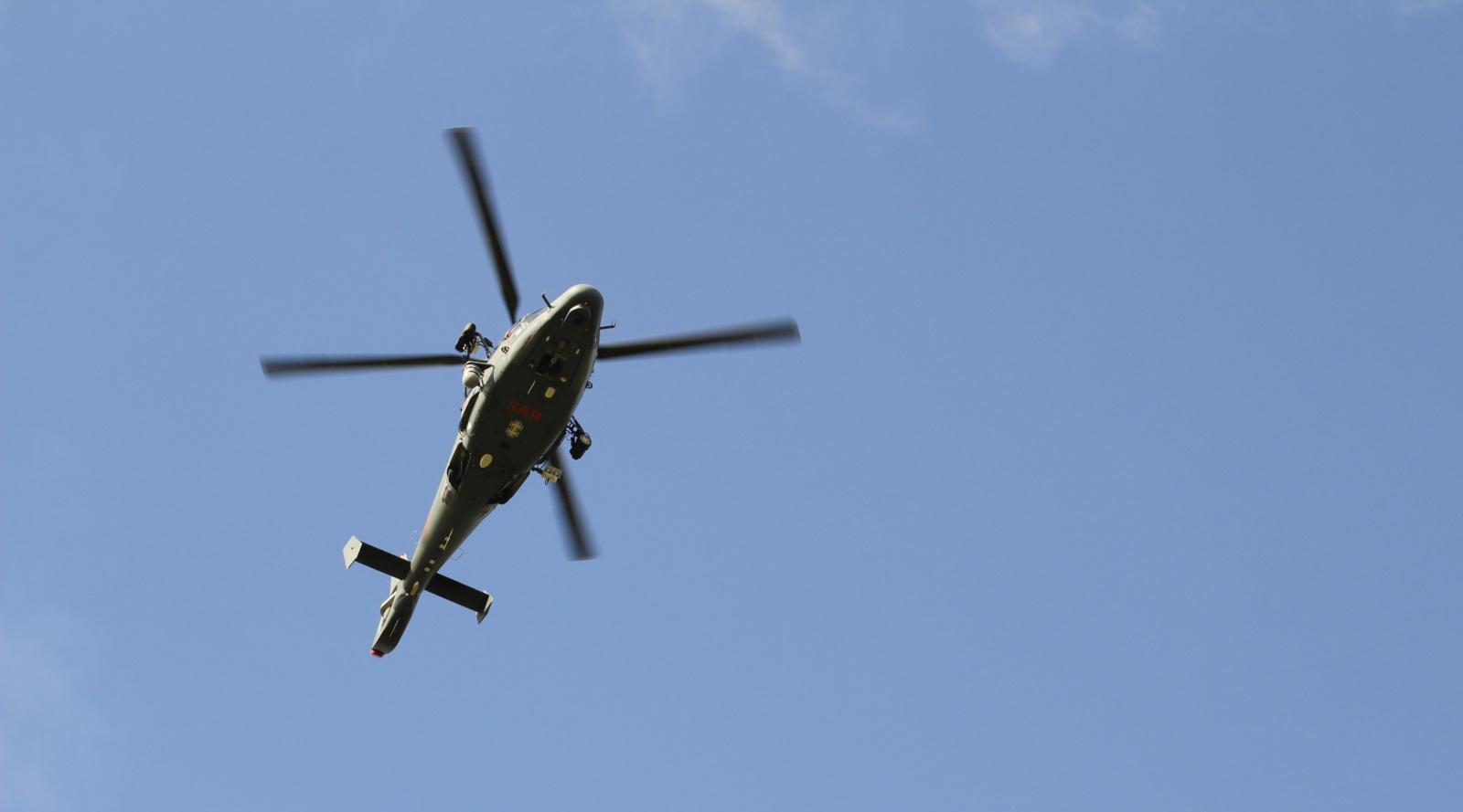 Kariuomenės sraigtasparnis ieškojo Jonavos rajone dingusio asmens