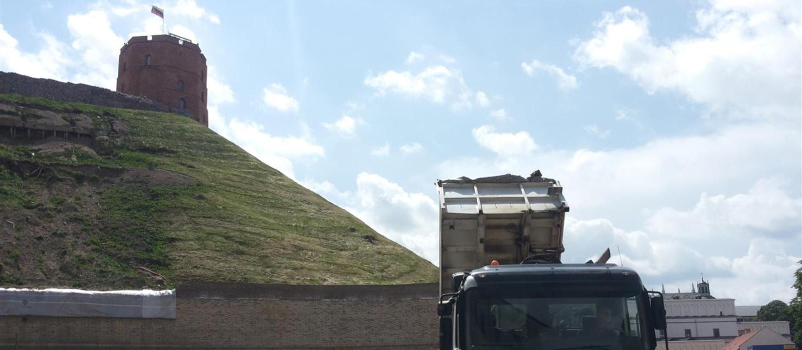 Vyriausybė dėl Gedimino kalno avarinės situacijos patvirtino neatidėliotinų veiksmų planą