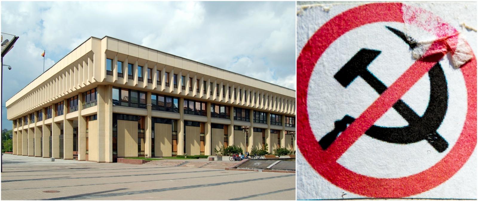 Seimas siekia Lietuvos komunistų partiją pripažinti nusikalstama