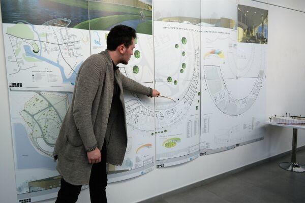 Jaunųjų architektų idėjose – ne tik jurbarkiečių lūkesčiai