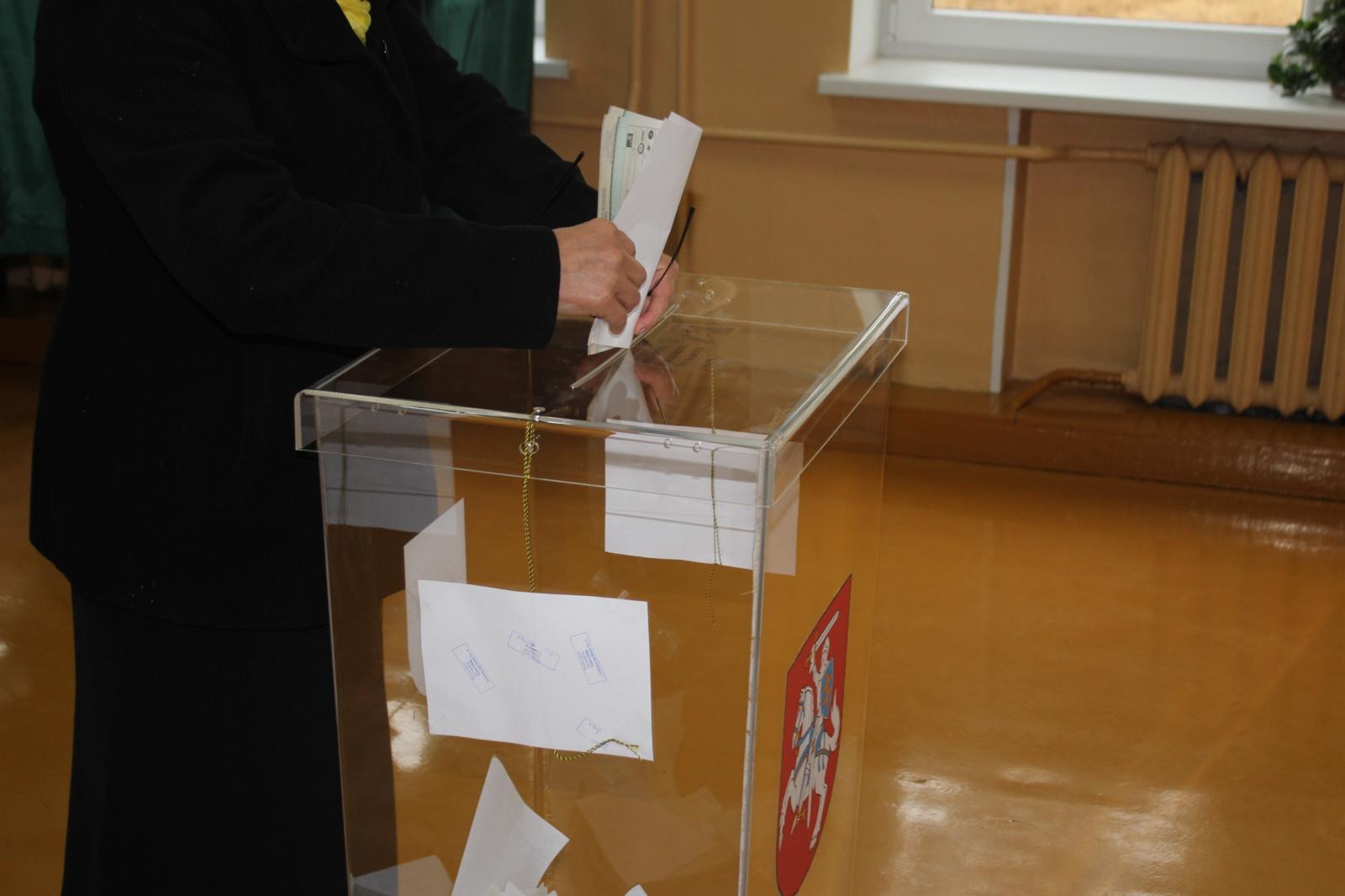 Nuo šeštadienio rinkimų agitacija draudžiama