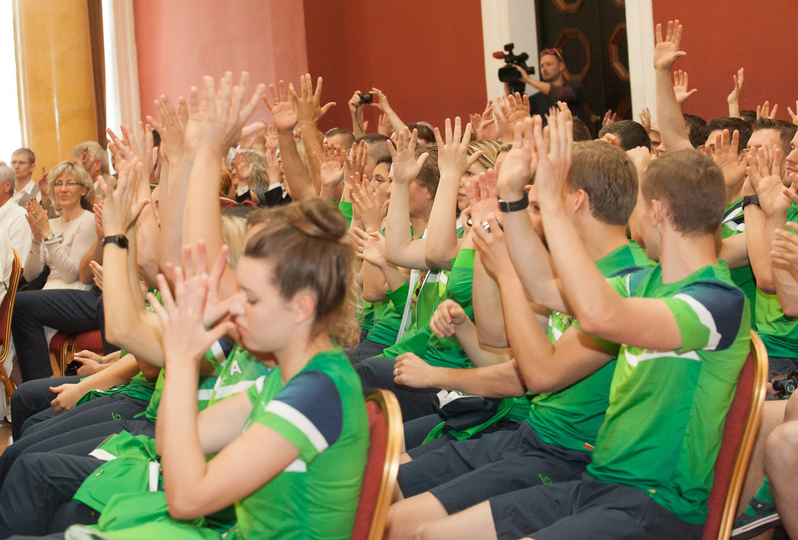 Lietuvos sportininkai išlydėti į Kurčiųjų olimpines žaidynes (FOTO)