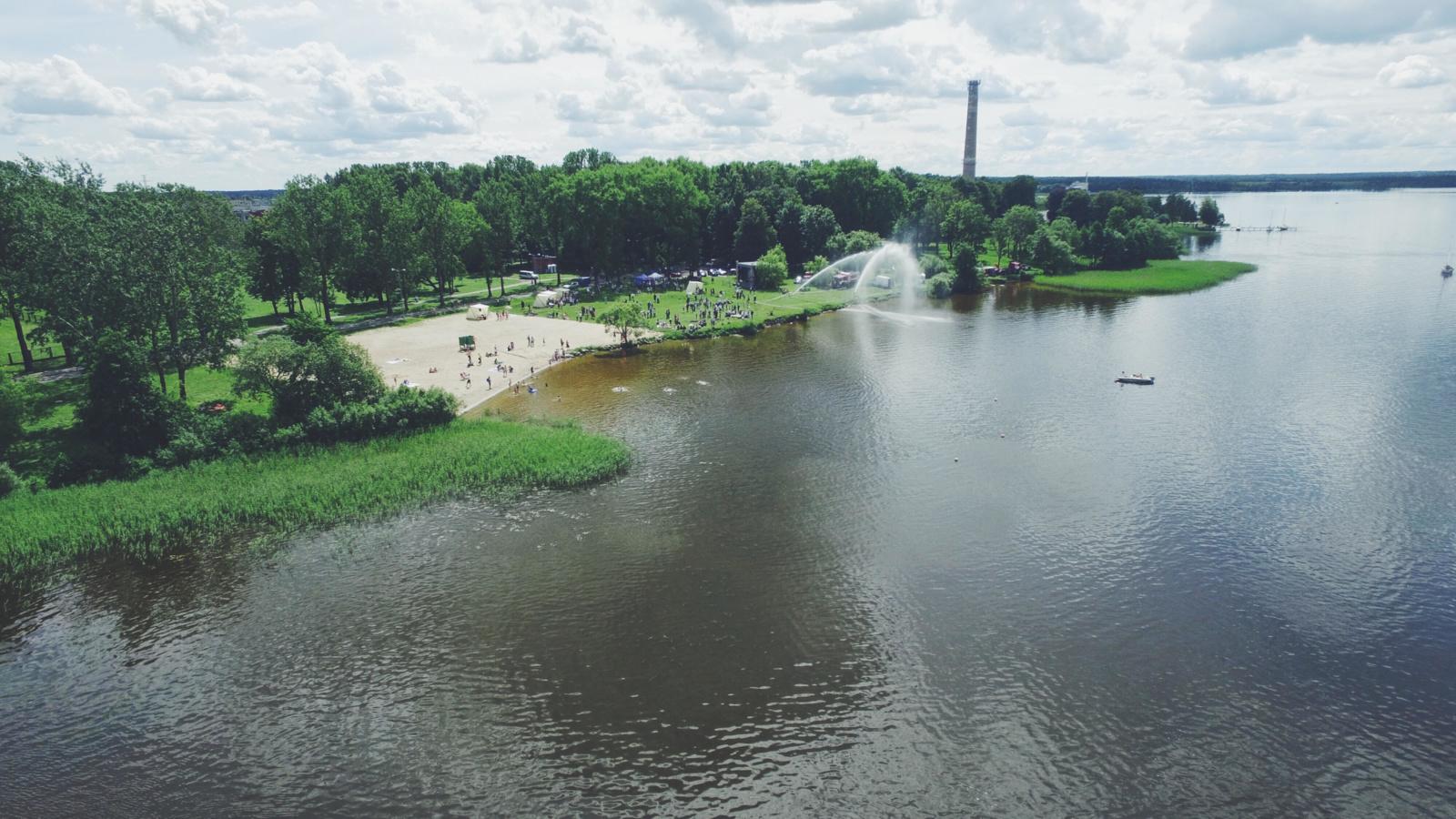 Rėkyvos vandens šventė - iš dangaus ir ant žemės (papildyta nuotraukomis ir video)