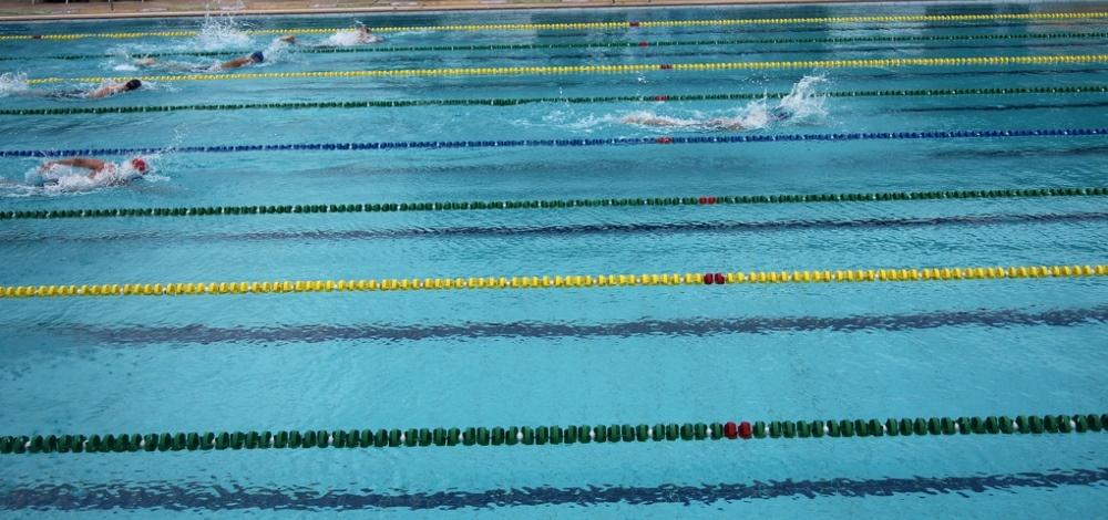 Plaukikas G. Titenis varžybose Barselonoje - septintas