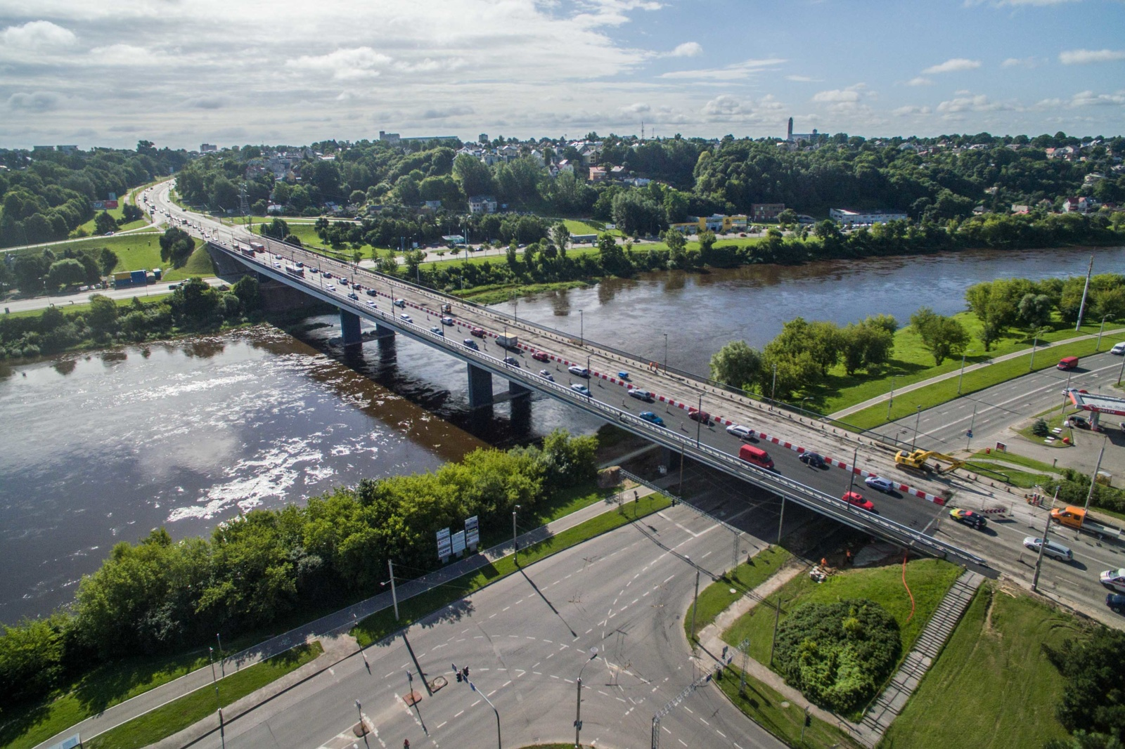 Kauno hidroelektrinėje pavasarį pagaminta trečdaliu mažiau energijos nei prieš metus