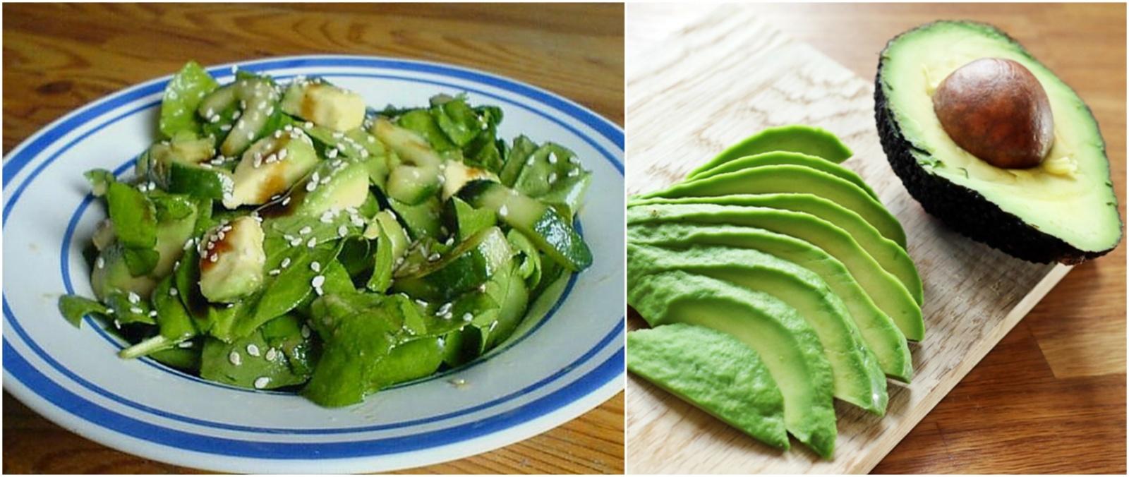 Žaliosios vasaros salotos lieknėjantiems