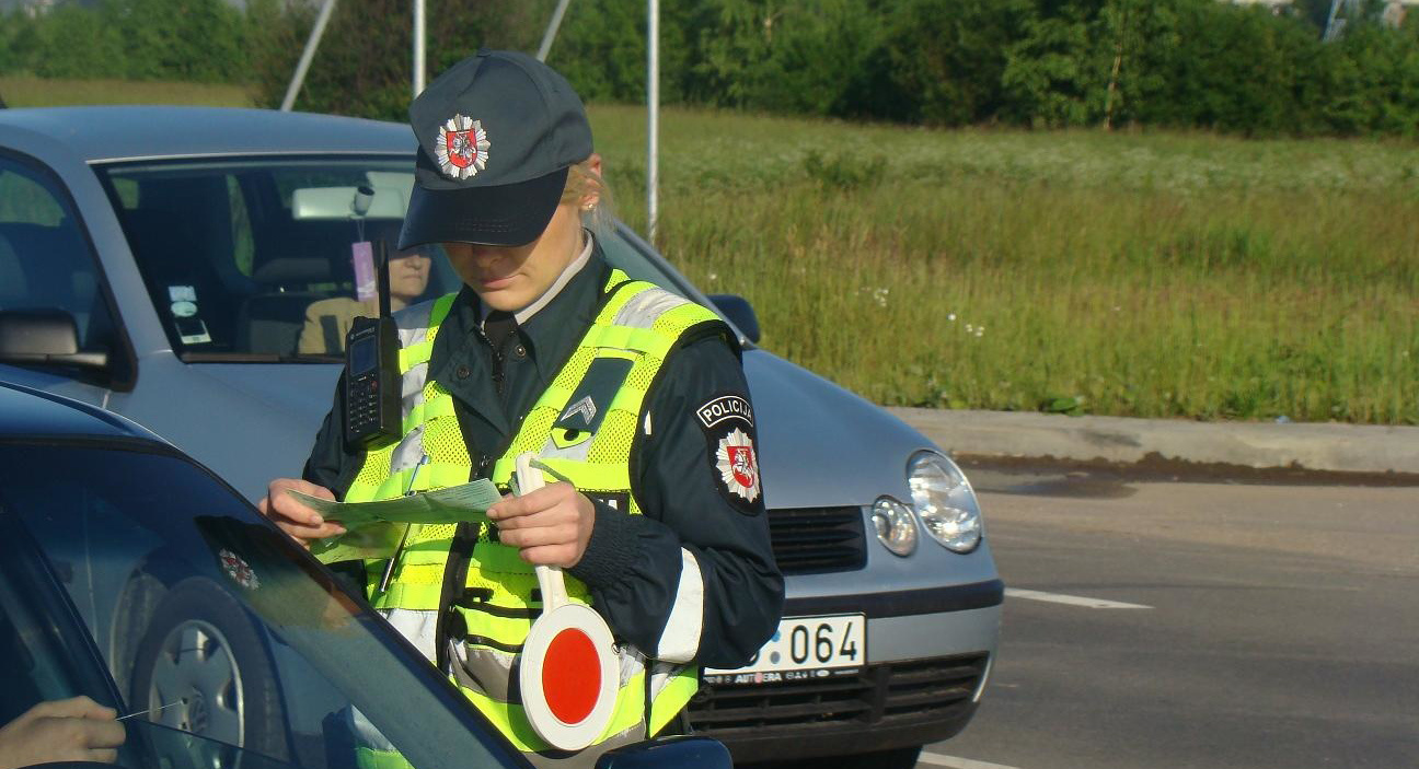 Kelių policija: rugpjūtį bus gausu prevencinių priemonių