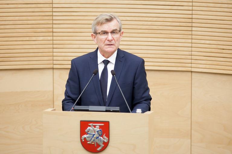 Dėl antisąjūdinio pasisakymo V. Pranckietis raginamas atsistatydinti