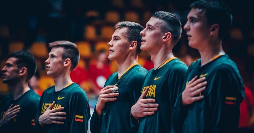 Lietuvos 18-mečių krepšinio rinktinė pateko į Europos čempionato pusfinalį