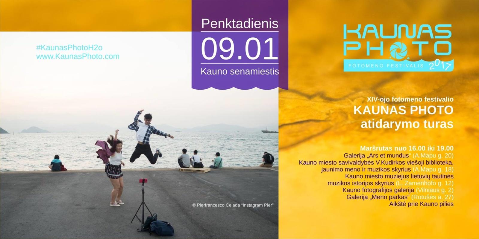 """Festivalis """"Kaunas Photo 2017"""" pasižymės renginių gausa"""