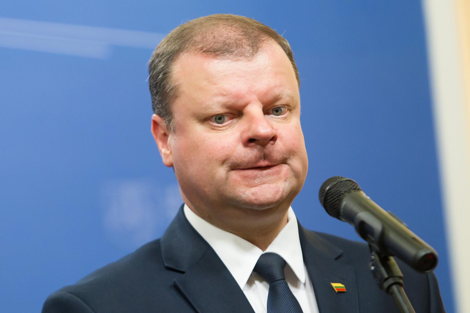 Premjeras užstoja buvusios A. Kubiliaus Vyriausybės darbą