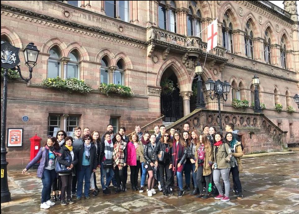 """""""Saulėtekio"""" gimnazijoje stiprinama partnerystė su Europos šalių mokyklomis"""