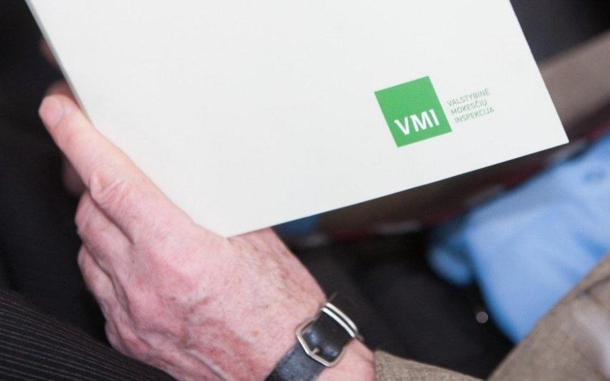 Gyventojus pasieks VMI pranešimai