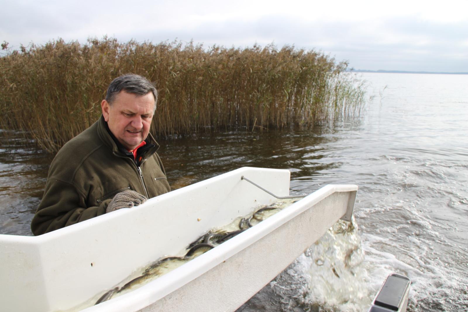 Įžuvintas didžiausias Šiaulių apskrities ežeras