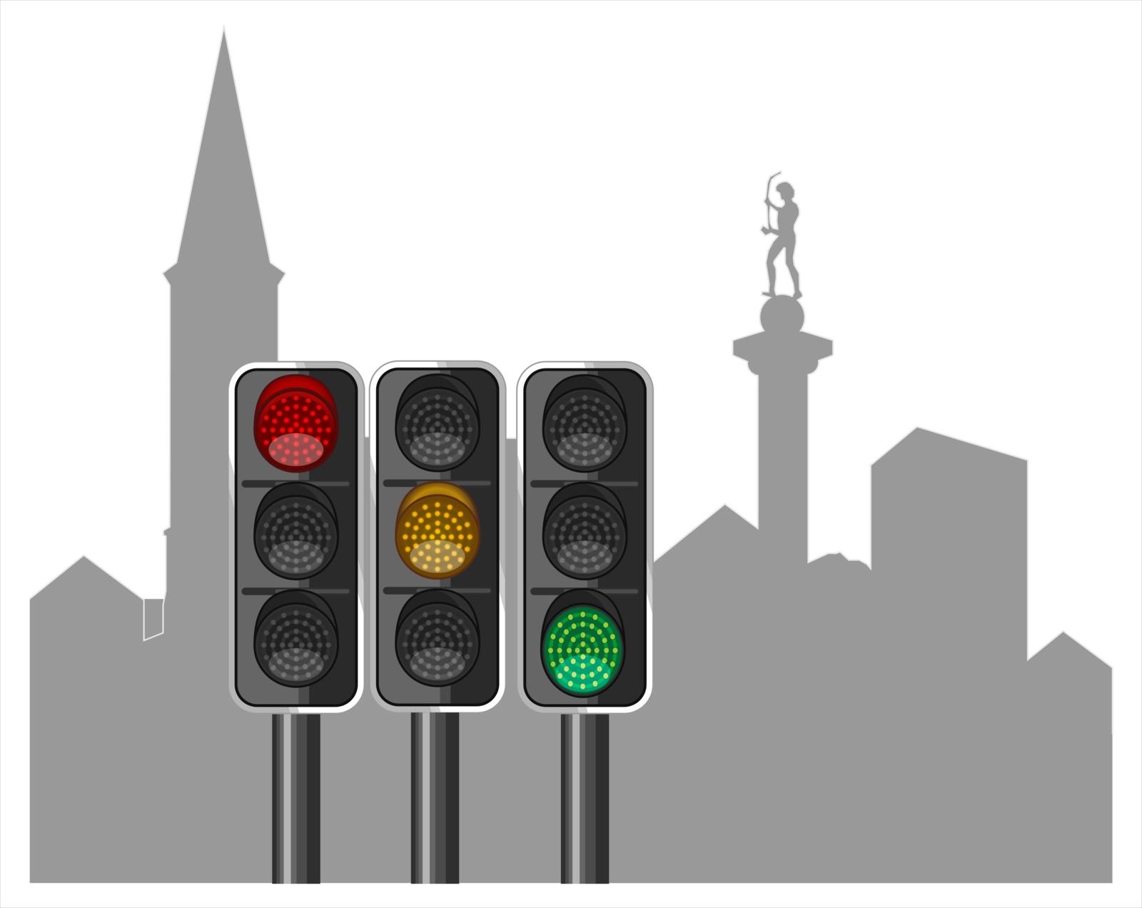 45 išmanūs šviesoforai = 1 išmanus miestas?
