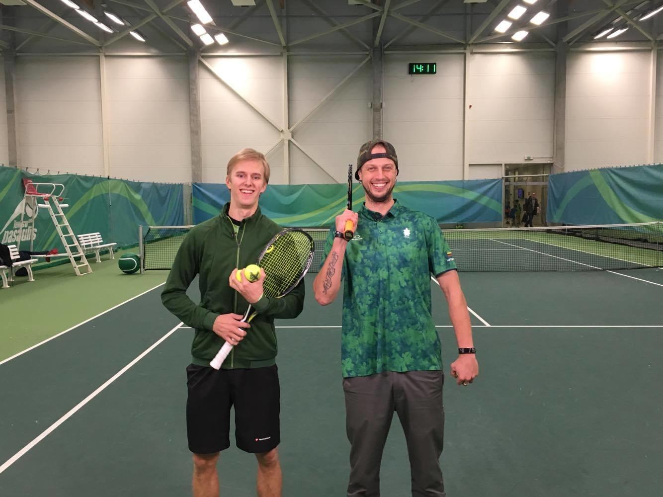 Tenisininkas Lukas Mugevičius: vidinė stiprybė – svarbiausia sportininko savybė