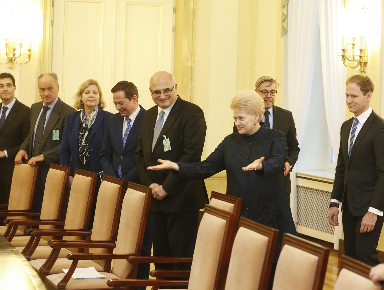 D. Grybauskaitė: ES šalių vienybė - atsakas į saugumo iššūkius
