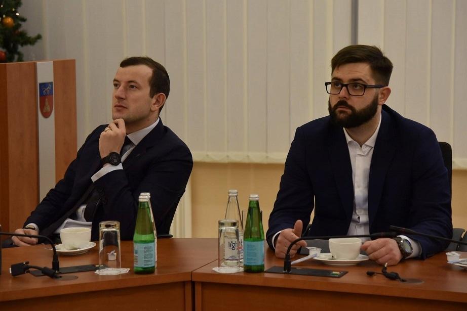 Šalčininkų rajone lankėsi ūkio ministras Virgilijus Sinkevičius
