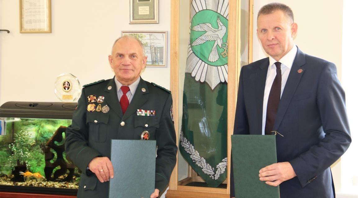 Pasirašyta bendradarbiavimo sutartis su Valstybės sienos apsaugos tarnybos Pagėgių rinktine