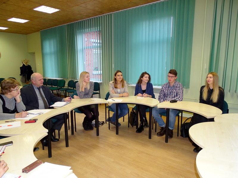 Susitikta su LMS Kelmės padalinio atstovais (nuotraukų galerija)