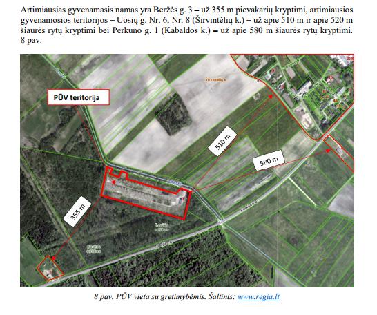 1,3 km nuo Širvintų miesto centro planuojama antrinių atliekų perdirbimo gamykla