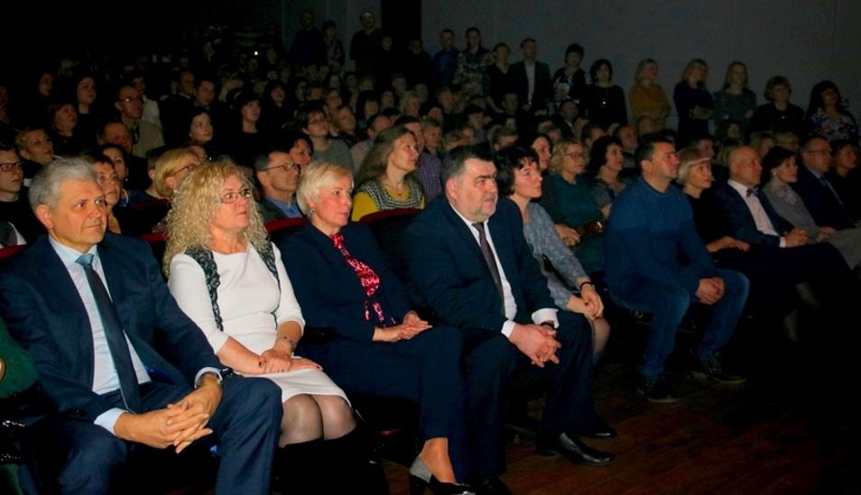 Mero iniciatyva – šventinis koncertas savivaldybės darbuotojams